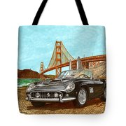 1960 Ferrari 250 California G T Tote Bag