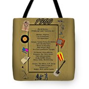 1960 Great Events Tote Bag