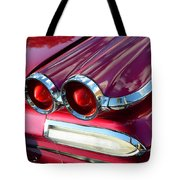 1960 Jet Engine Styling Tote Bag