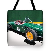 1960 Lotus 18 Fj Tote Bag