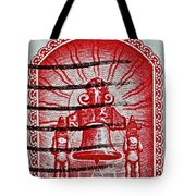 1960 Mexican Independence Stamp Tote Bag