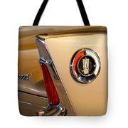 1960 Plymouth Fury Convertible Taillight And Emblem Tote Bag