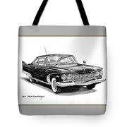 Plymouth Fury Tote Bag