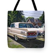1960 Thunderbird 2 Tote Bag