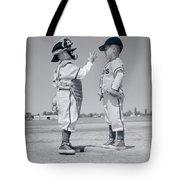 1960s Boy Little Leaguer Pitcher Tote Bag