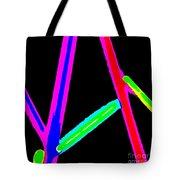 1960s Neon Tote Bag