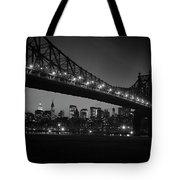 1960s Queensboro Bridge And Manhattan Tote Bag