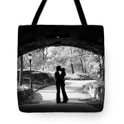 1960s Silhouette Of Anonymous Young Tote Bag