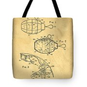 1960s Toy Hand Grenade Tote Bag