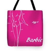 1961 Barbie Doll Patent Art 1 Tote Bag