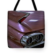 1961 Cadillac Coupe 62 Taillight Tote Bag