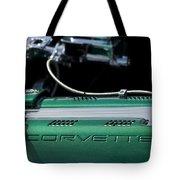 1961 Chevrolet Corvette Engine Tote Bag