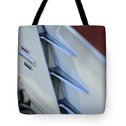 1961 Chevrolet Corvette Side Emblem 4 Tote Bag