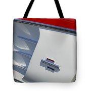 1961 Chevrolet Corvette Side Emblem Tote Bag