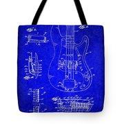 1961 Fender Guitar Tote Bag