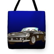 1961 Ferrari 250 G T California Tote Bag