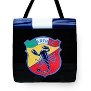 1961 Fiat-abarth 1000 Bialbero Gt Competition Coupe Emblem Tote Bag