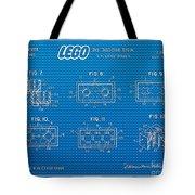 1961 Lego Building Blocks Patent Art 1 Tote Bag