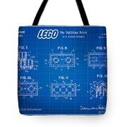 1961 Lego Building Blocks Patent Art 4 Tote Bag