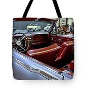 1961 Lincoln Continental Interior Tote Bag