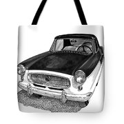 1961 Nash Metro In Black White Tote Bag