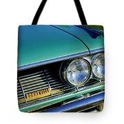 1961 Pontiac Bonneville Grille Emblem Tote Bag