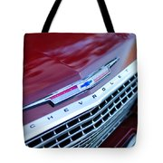 1962 Chevrolet Impala Ss Grille Tote Bag