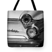1962 Dodge Dart Taillight Emblem Tote Bag