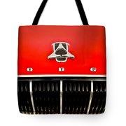 1962 Dodge Polara 500 Emblem Tote Bag