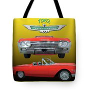 1962 Ford T-bird Sport Tote Bag