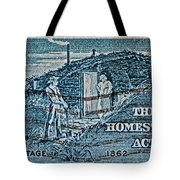 1962 Homestead Act Stamp Tote Bag