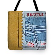 1962 Seattle World's Fair Stamp Tote Bag