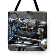 1962 V6 Lotus Engine Tote Bag