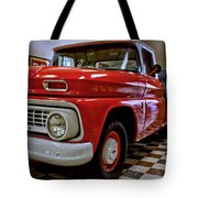 1963 Chev Pick Up Tote Bag