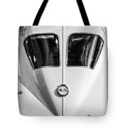 1963 Chevrolet Corvette Split Window -386bw Tote Bag