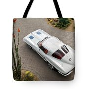 1963 Chevrolet Corvette Split Window -440c Tote Bag