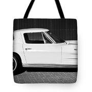 1963 Chevrolet Corvette Split Window -575bw Tote Bag