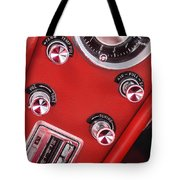 1963 Chevrolet Corvette Split Window Dash -334c Tote Bag