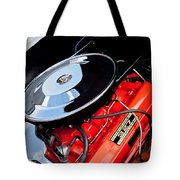 1963 Chevrolet Corvette Split Window Engine -147c Tote Bag