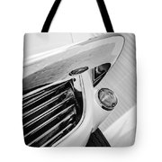 1963 Chevrolet Corvette Split Window Grille -221bw Tote Bag