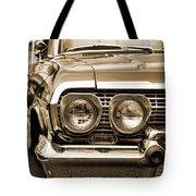 1963 Chevrolet Impala Ss In Sepia Tote Bag