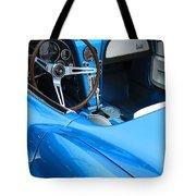 1963 Corvette Driver Approach Tote Bag