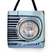 1963 Ford Falcon Futura Convertible Headlight - Hood Ornament Tote Bag