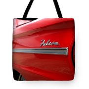 1963 Ford Falcon Name Plate Tote Bag