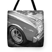 1963 Ford Falcon Sprint Convertible  Bw Tote Bag
