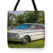 1963 Ford Galaxie 500xl Hardtop Tote Bag
