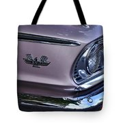 1963 Ford Galaxie Front End And Badge Tote Bag