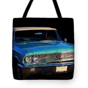 1963 Ford Galaxy Tote Bag