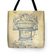 1963 Jukebox Patent Artwork - Vintage Tote Bag