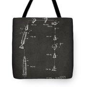 1963 Space Capsule Patent Gray Tote Bag